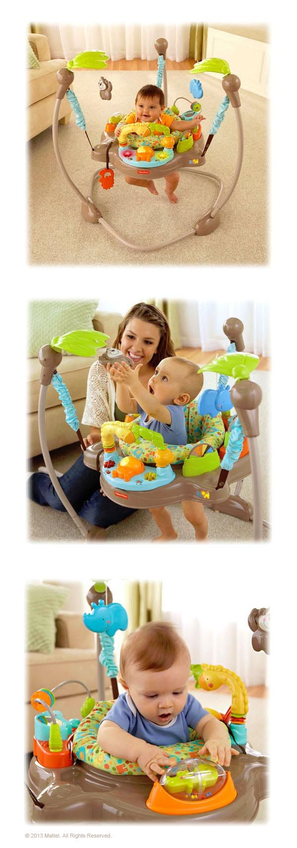 Jumperoo's keep baby entertained and busy so you have a ...
