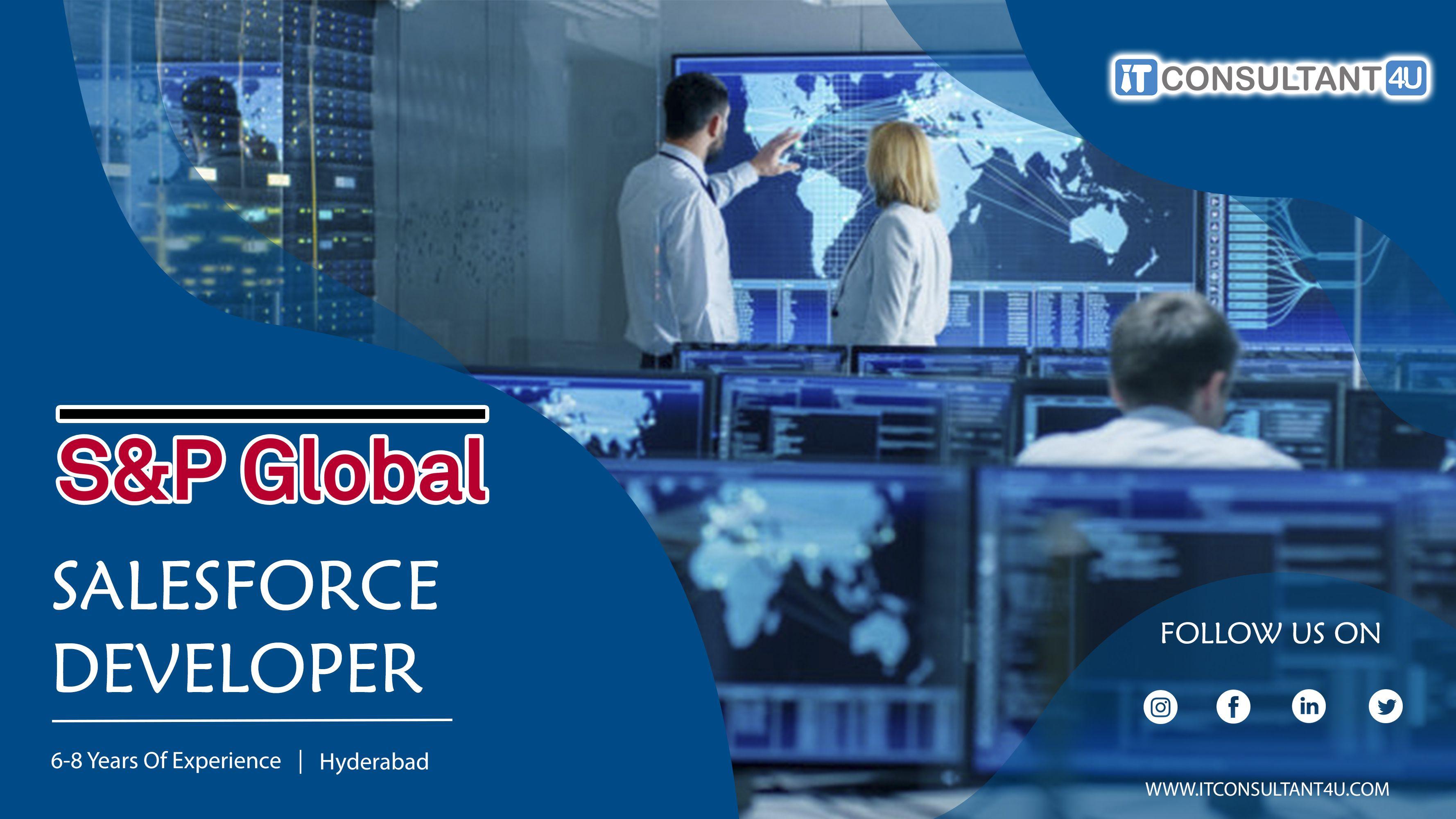 S P Global Is Hiring Salesforcedeveloper Itconsultant4u In 2020 Job Opening Help Finding A Job Job Posting