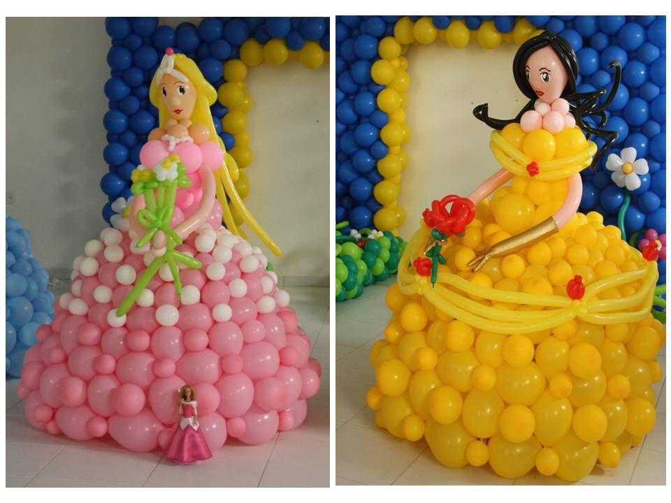 princesas brasileras | balloon decoration | Pinterest | Princess ...