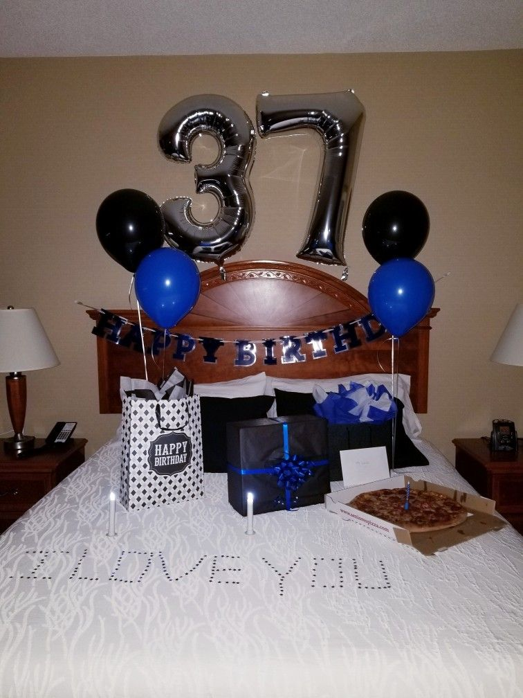 37th Birthday Surprise For Him Birthday Surprises For Him