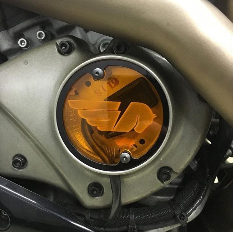 Details about Buell Translucent Timing Cover '03-'07 XB