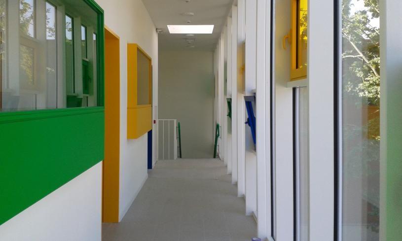 Basisschool De Bel, Muizen, Laureaat architectuurwedstrijd selectie 2014, Bouwkundig erfgoed, Peter Benoitstraat Mechelen, a33 architecten Leuven