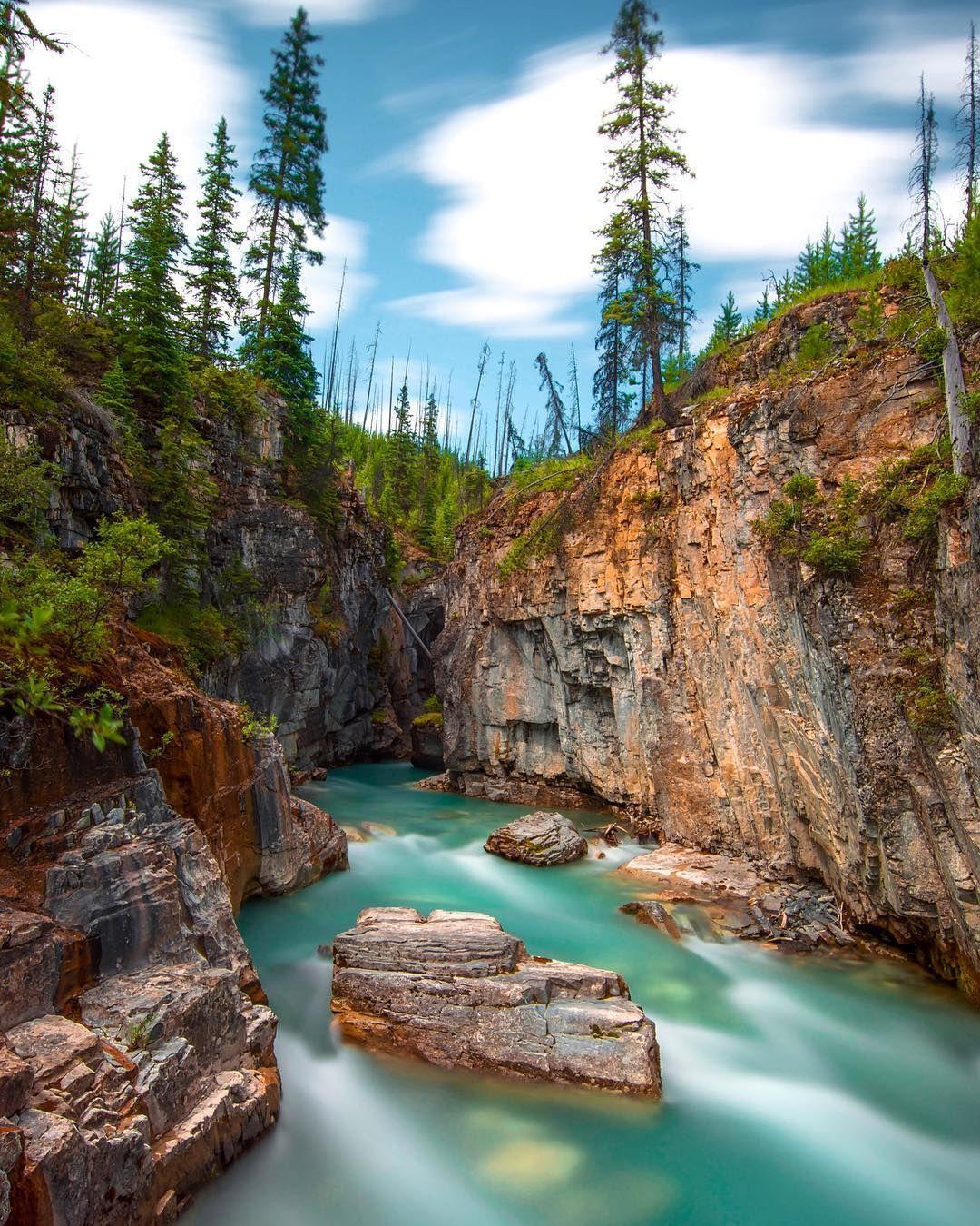 ***Marble Canyon (Kootenay National Park, BC) by Dan ...