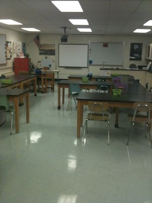 The Active Biology Classroom Biology Classroom Science Table Science Classroom
