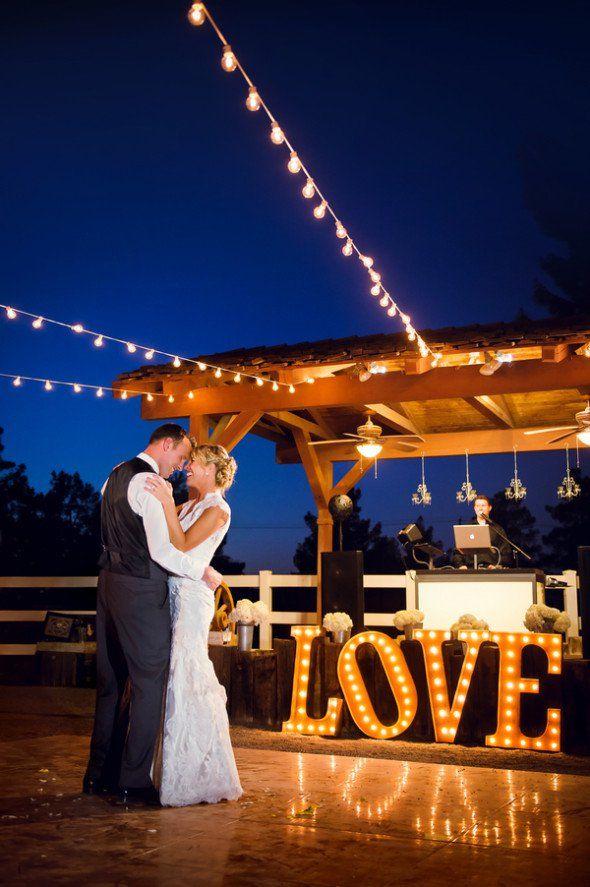 Las Vegas Rustic Wedding Rustic Wedding Chic Vegas Wedding Venue Night Time Wedding Outdoor Wedding