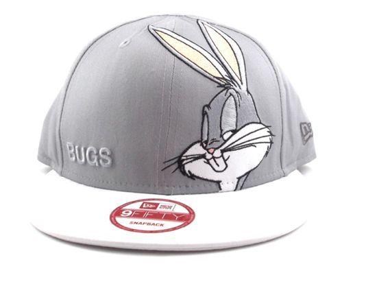 "LOONEY TOONS x NEW ERA ""Bugs Bunny"" 9Fifty Snapback Cap  4a30ef40ee8"