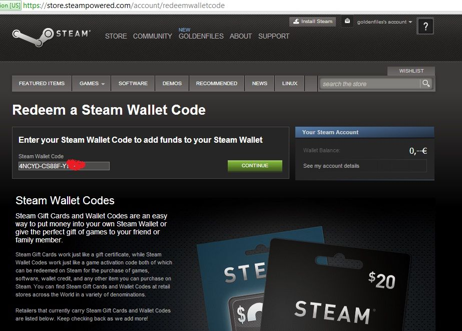 I am here to introduce you our powerful , 100% working Steam Wallet Code Generator that generates unlimited amount of cards ( Gift Card Code)