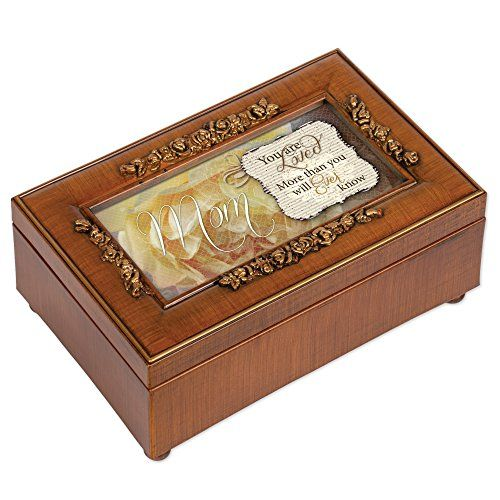 Cottage Garden Mother Italian Inspired Music Box Plays Wind Beneath My Wings