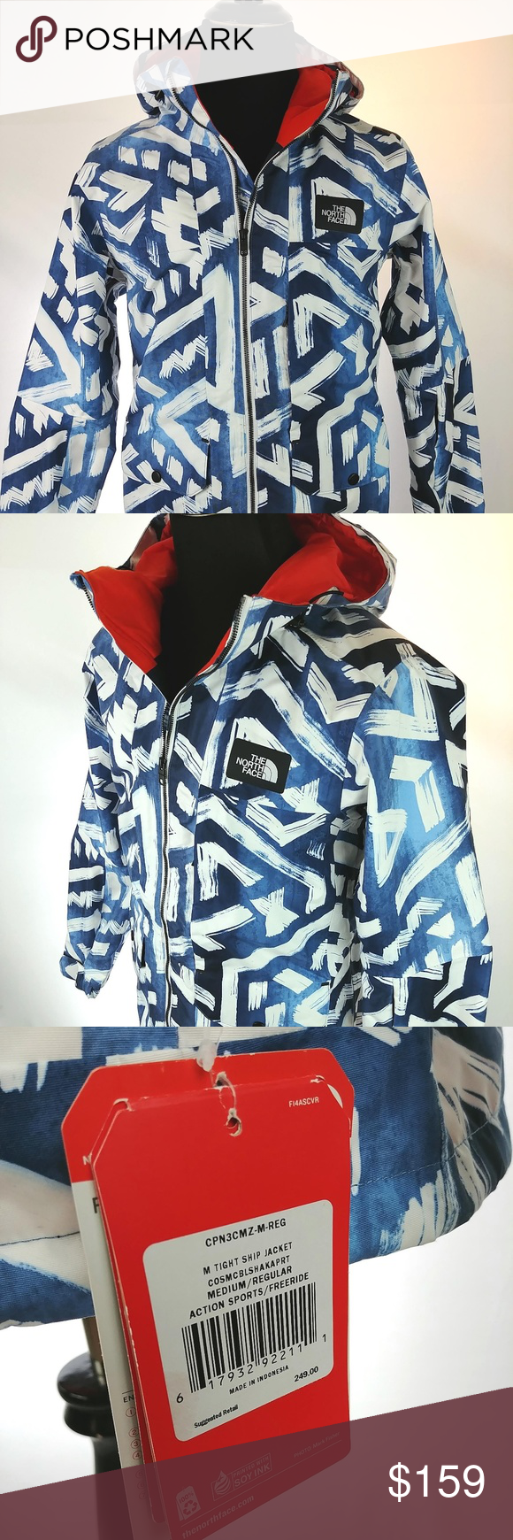 5a35a67c7 The North Face Mens Tight Ship Jacket Hyvent NEW The North Face Mens ...