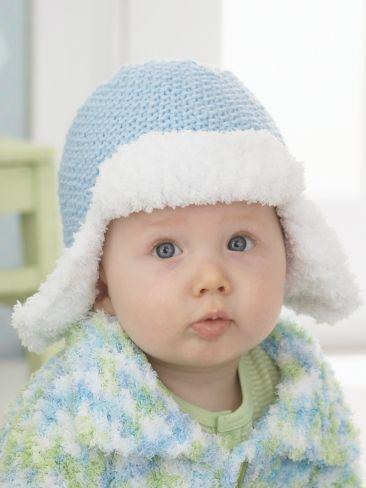 Trapper Hat Yarn Free Knitting Patterns Crochet Patterns