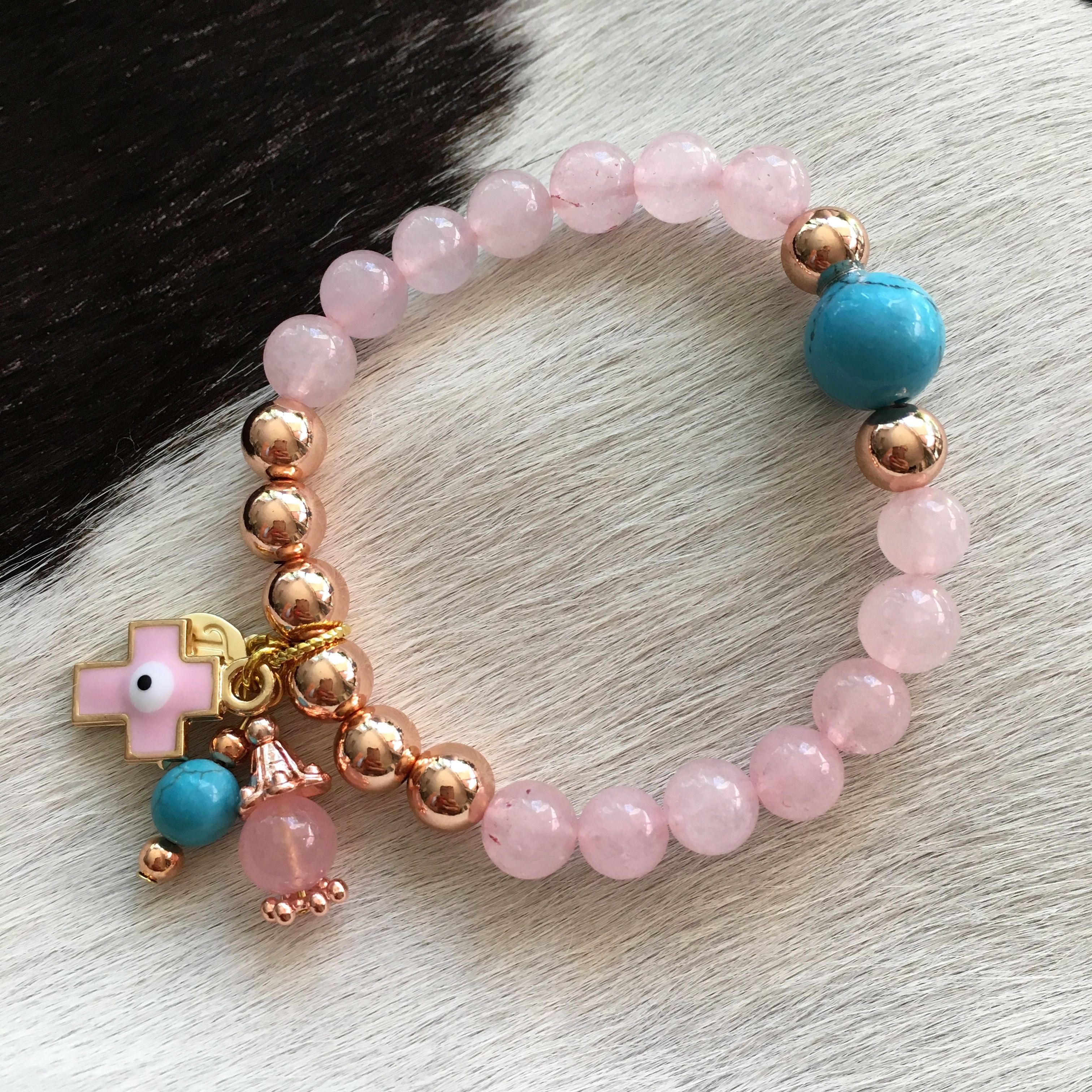 Rose Pink Jade Bracelet  No 10