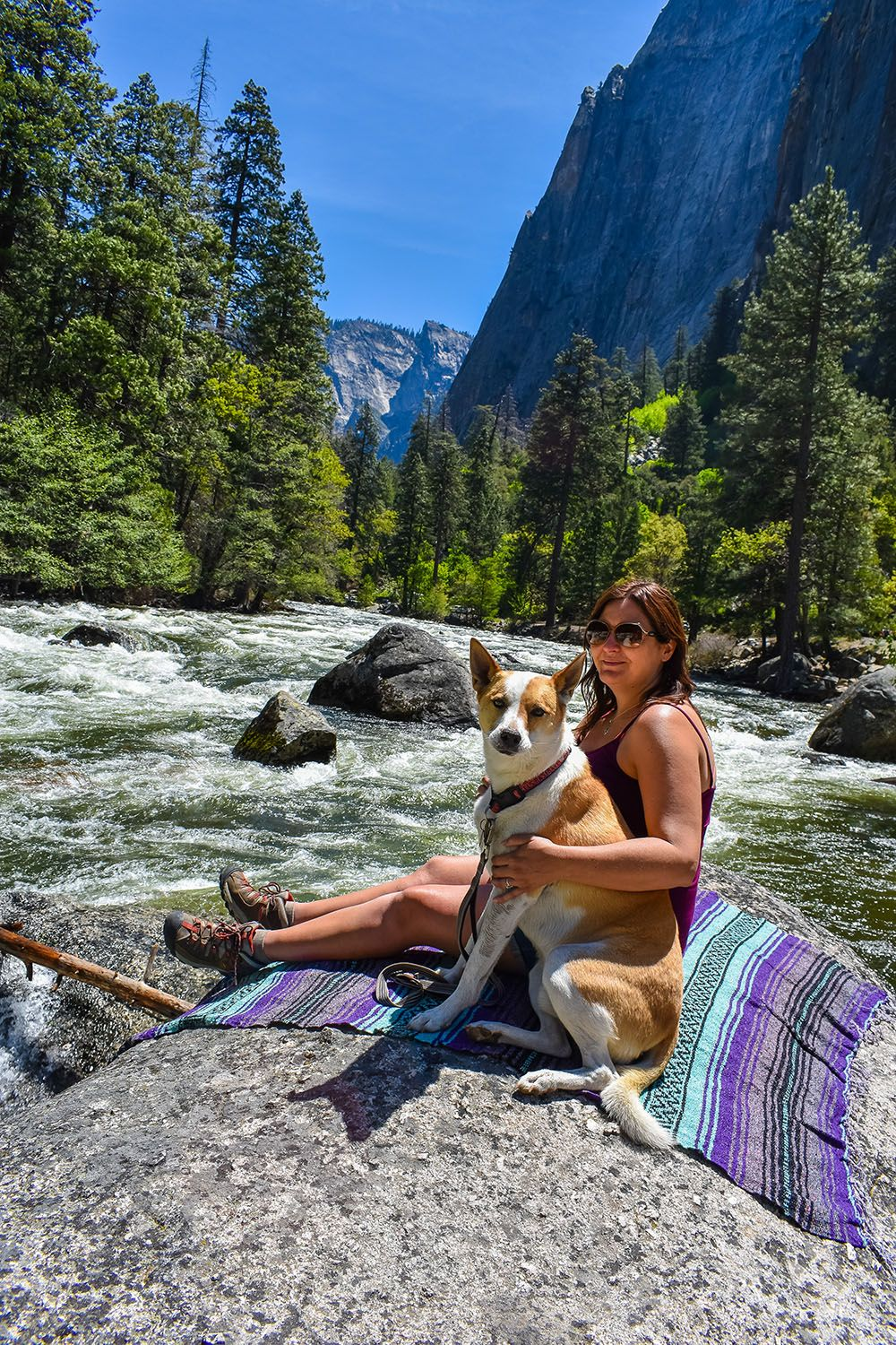 Hanging with my best friend in yosemite national park by