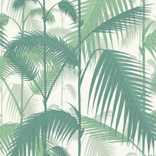 Cole & Son PALM JUNGLE FOREST GRE/W Wallpaper