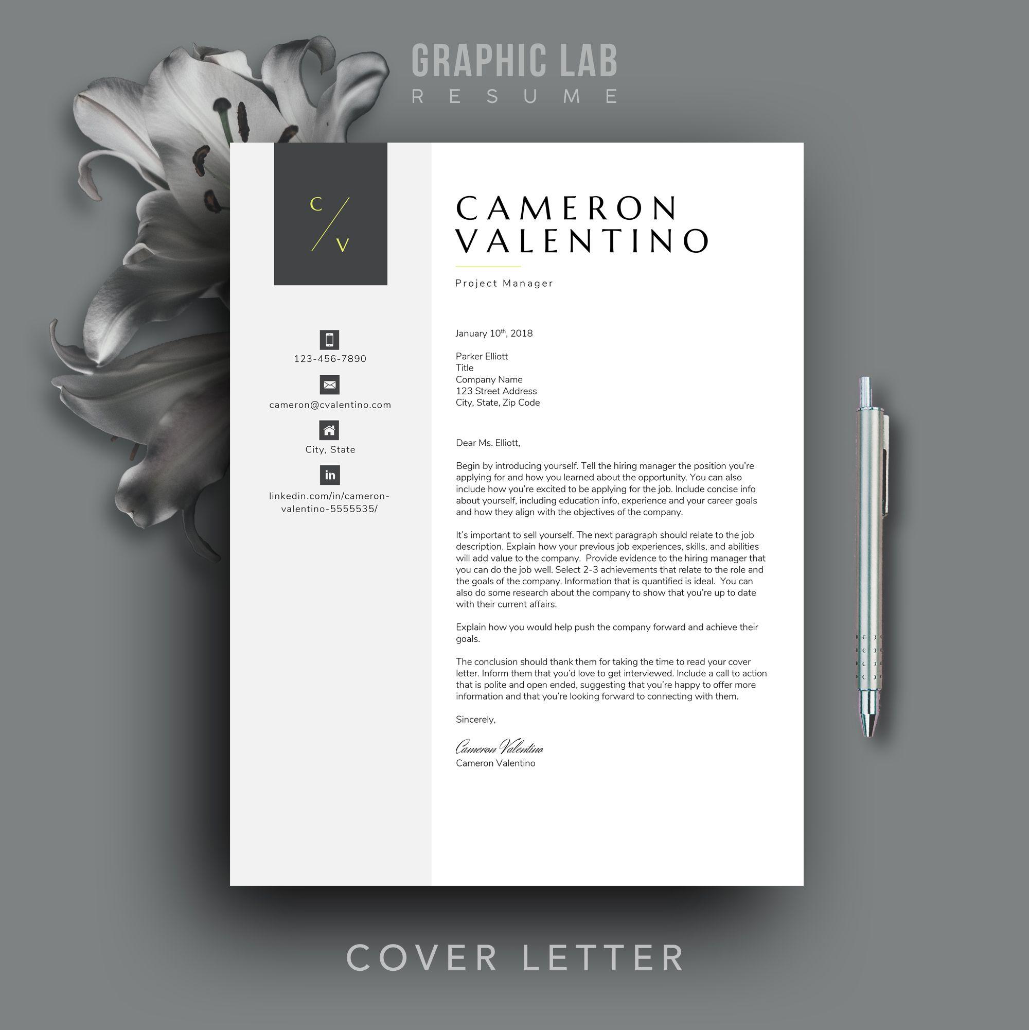 Modern Resume Template Cv Design Resume Template Word Modern Resume Design Cv Template Professional Resume Cover Letter Cv In 2021 Modern Resume Template Resume Design Resume Template