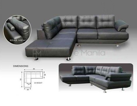mhl 002 belarus l shaped sofa furniture manila philippines home rh pinterest com