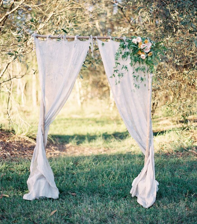 Ladder Wedding Altar: Diy Wooden Arches For Weddings - Google Search