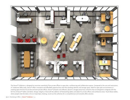 Collaborative Work Space Plan Office Layout Plan Office Space