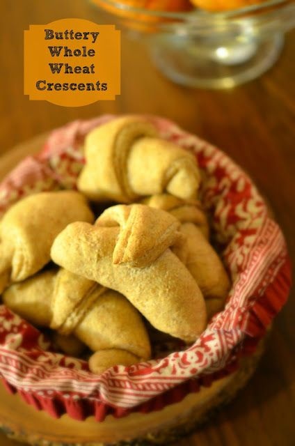 Buttery Whole Wheat Crescents