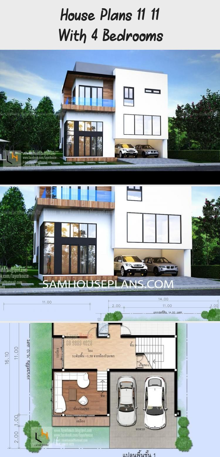 House Plans 11x11 With 4 Bedrooms Sam House Plans Polebarnfloorplans4bedroom Floorplans4bedroomflat Floorplans4bedr In 2020 House Plans Floor Plan 4 Bedroom House
