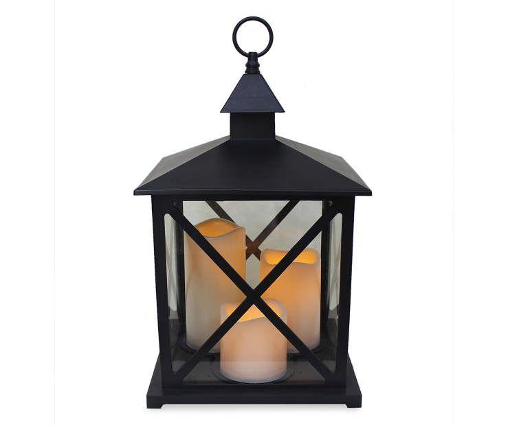 3-Candle LED Lantern   Big Lots