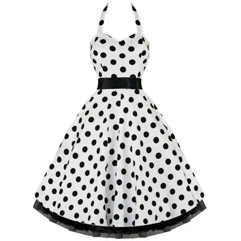Black Dot-mekko - Naiset - Mekot - Underground Store   Piercing Studio 154d9ca5a5