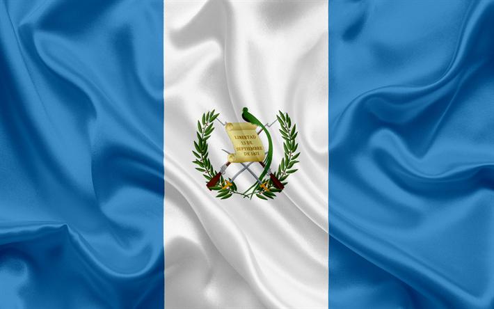 Download Wallpapers Guatemalan Flag Central America Guatemala National Flag Flag Of Guatemala Besthqwallpapers Com Guatemala Flag Guatemalan Flag Guatemala