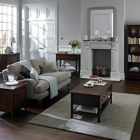 Dark Wood Furniture Living Room Decorating Ideas Area Rugs In John Lewis Home Decor Bonus