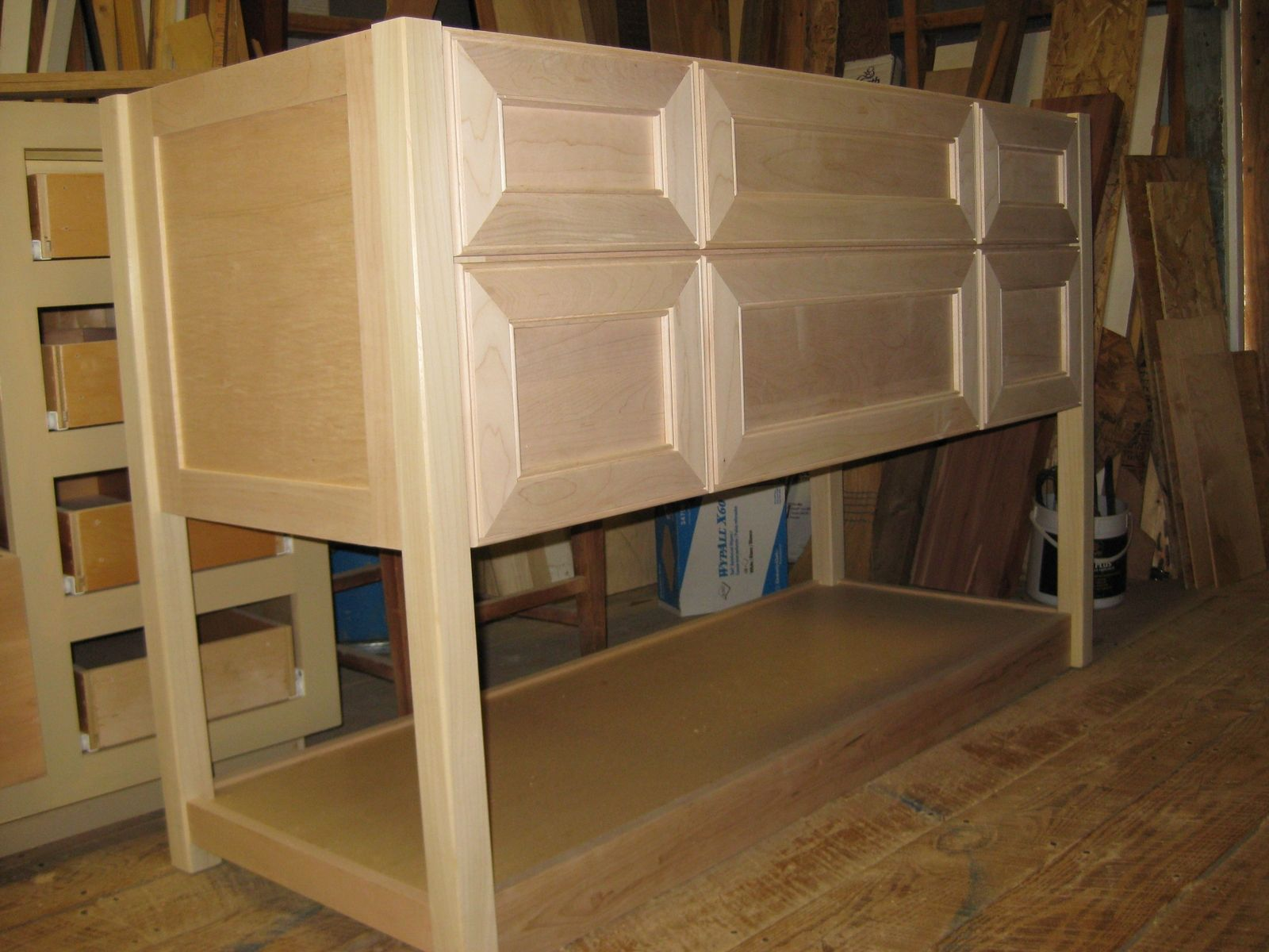Appealing Unfinished Discount Kitchen Cabinets. Unfinished Bathroom  VanitiesUnfinished CabinetsUnfinished FurnitureOak ...