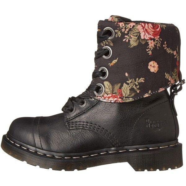 1df7beb615c Dr. Martens Triumph 1914 (Black Polished Wyoming) Women s Shoes ( 90 ...
