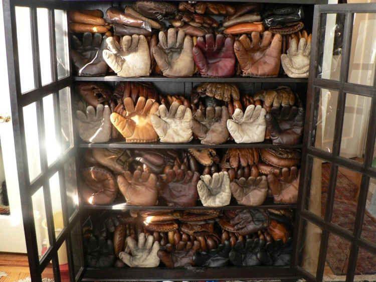 Vintage Baseball Glove Collection Courtesy Of Mike Mize KeymanCollectibles