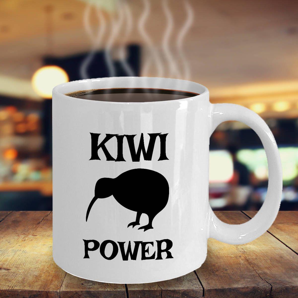 Kiwi Bird Mug Cute Kiwi Power Bird Coffee, Tea Cup Gift