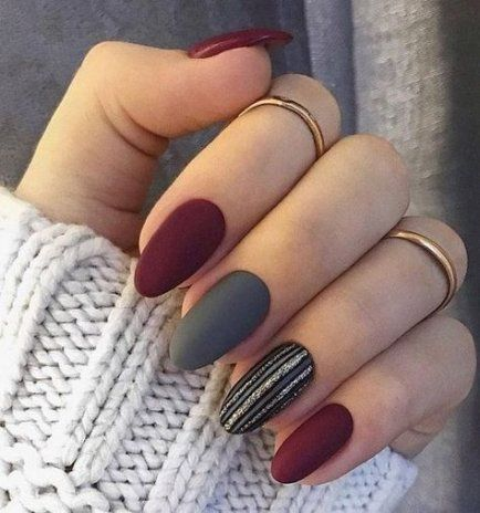 super nails almond shape silver ideas nails  nails