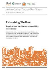 Urbanising Thailand: Implications for climate vulnerability assessments