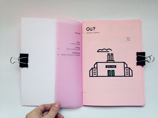 Internship Report On Behance  Design Graphique