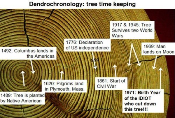 cross dating methods in dendrochronology definition