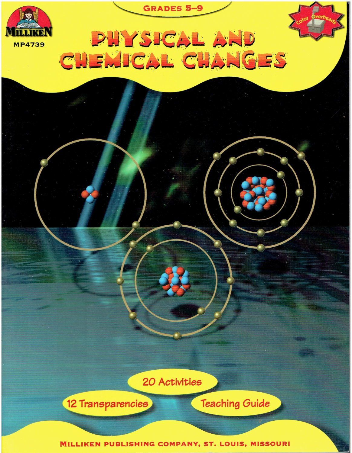 Physical and Chemical Changes Grade 5-9 Milliken MP 4739 workbook ...