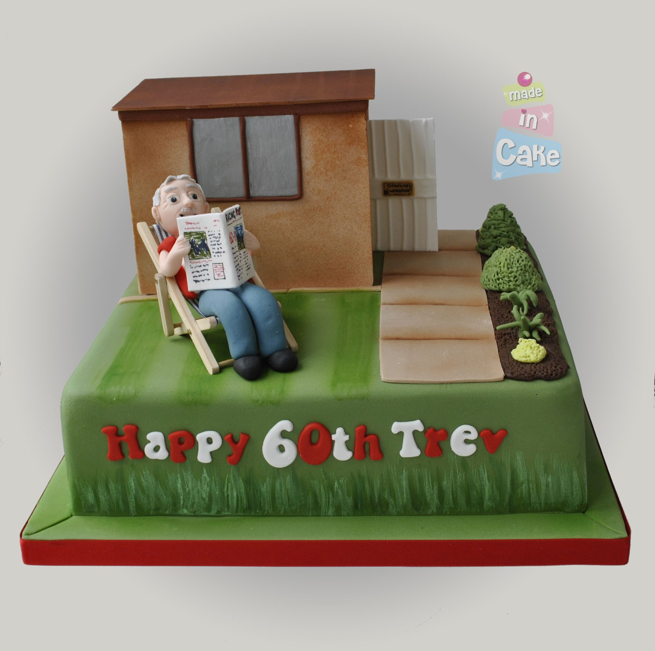 Garden Shed, Man Cave Cake