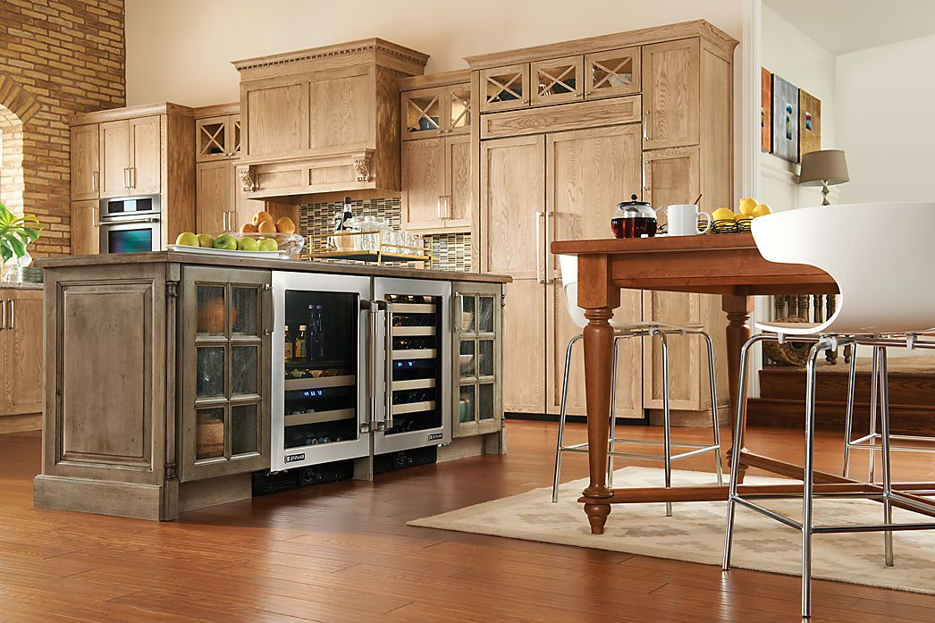 Make your island the focal point! medallion cabinetry   bayside ...