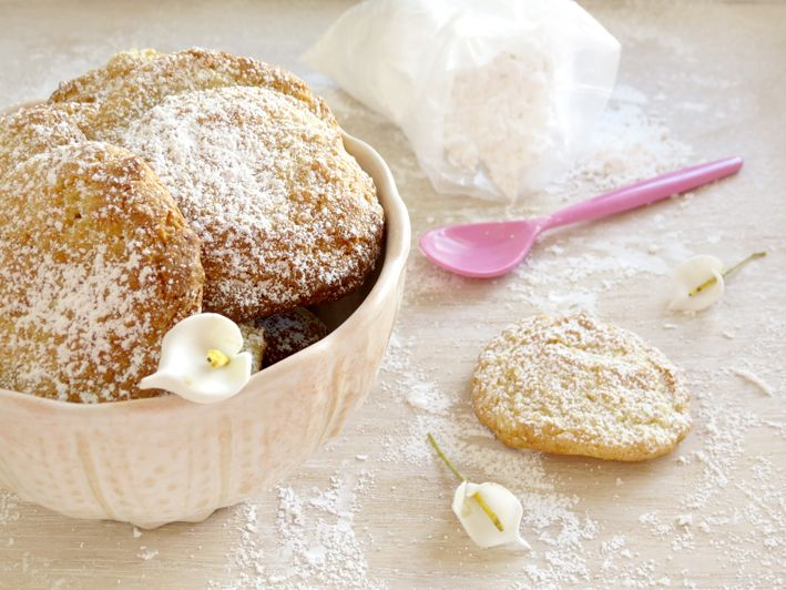 Fabrico Caseiro - biscoitos de côco e laranja
