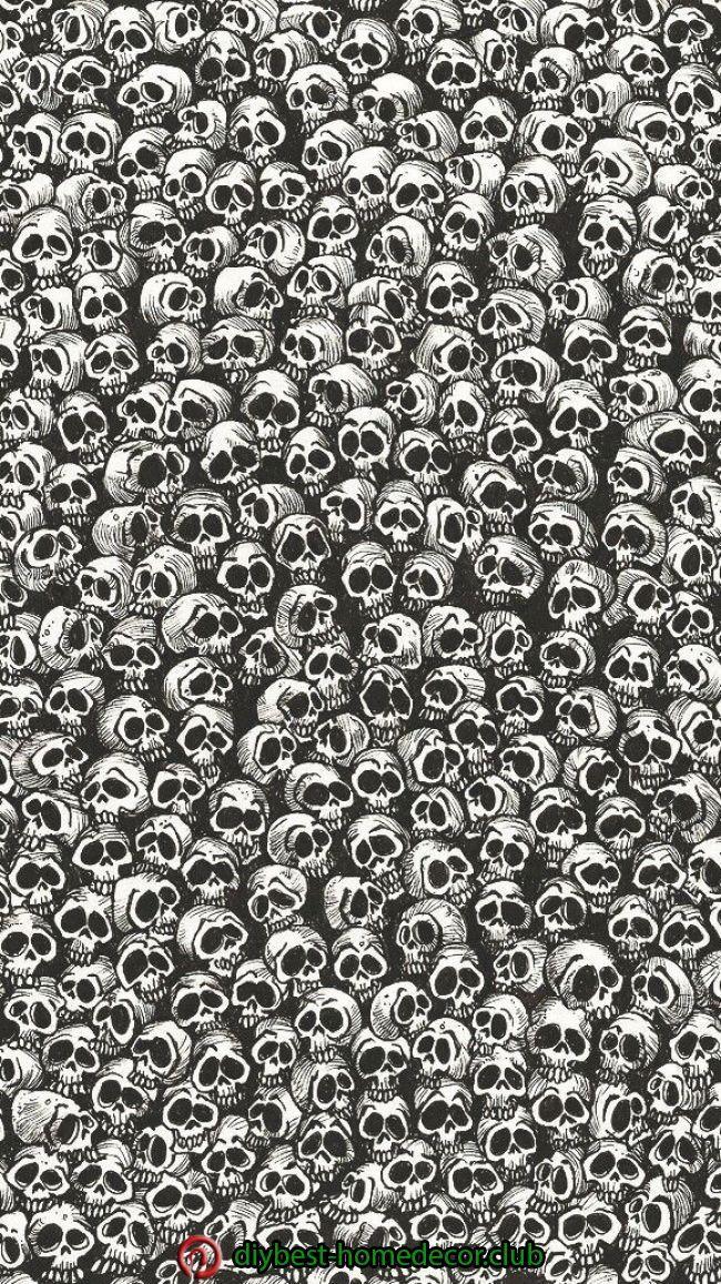 Diy Halloween Decorations Diy Halloween Decorations Gothic Wallpaper Skull Wallpaper Dark Wallpaper