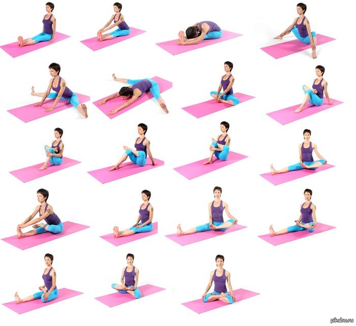 Йога для в домашних условиях в картинках 32