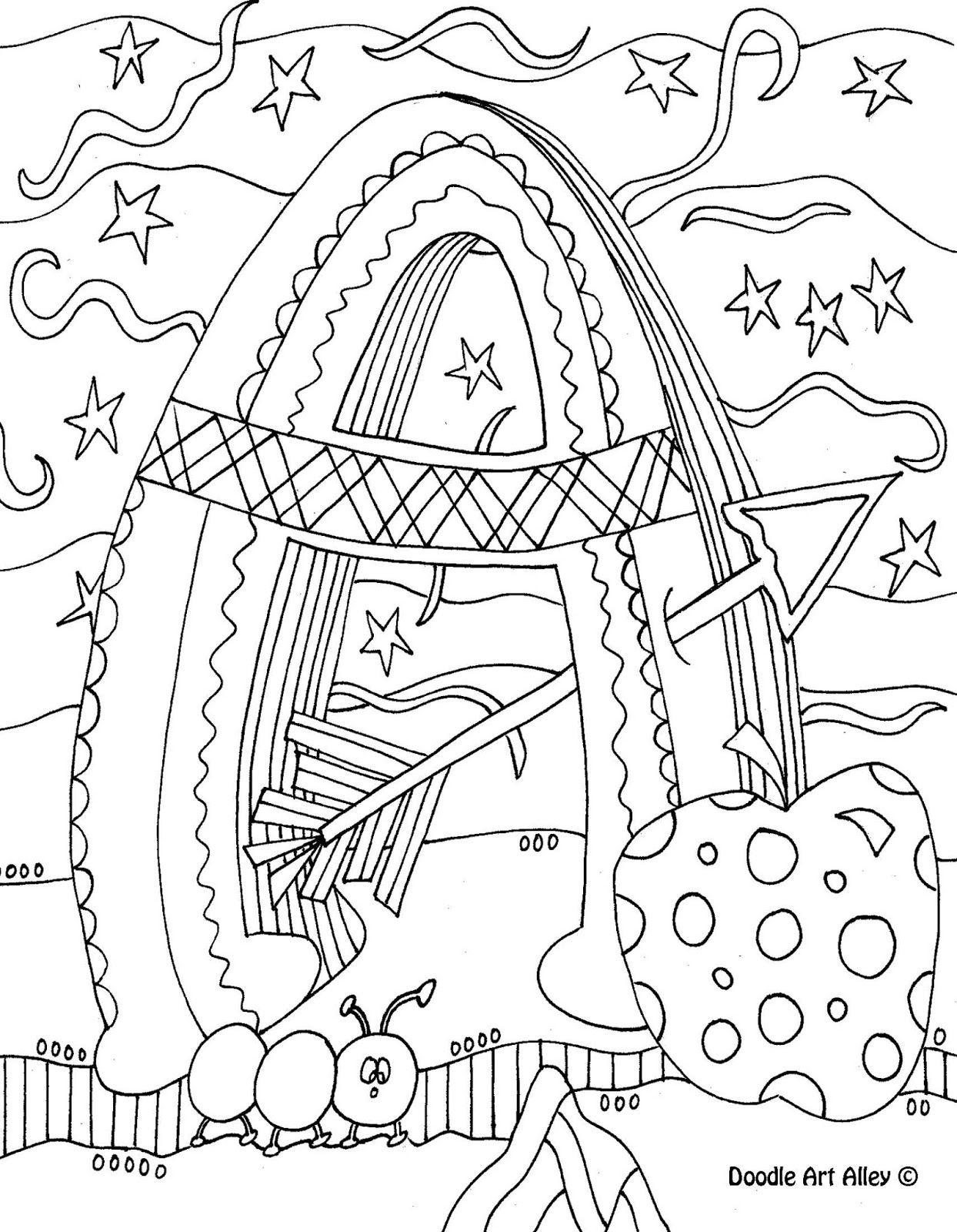 Free Doodle Art Worksheets