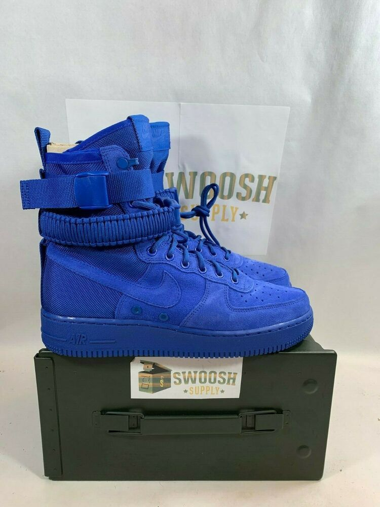 on sale 85863 e82be Nike SF Air Force 1 AF1 men lifestyle sneakers NEW game royal 864024-401   Nike  BasketballShoes