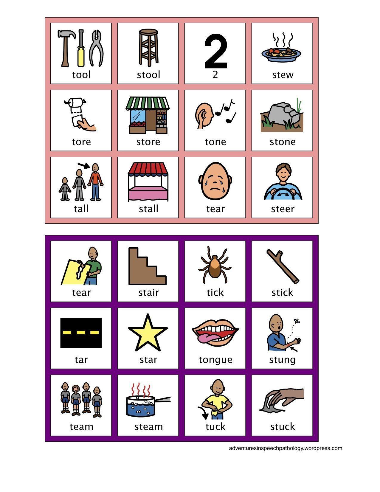 Printable Homophone Worksheets Free Homonyms Worksheets for 2nd Grade 1  School Fun – D…   Speech language activities [ 1651 x 1275 Pixel ]