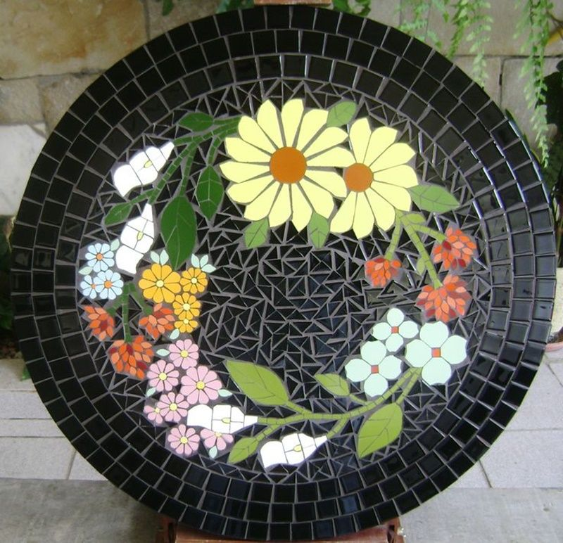 Pin De Lynn Nickerson Em Mosaics Tampos De Mesa De Mosaico