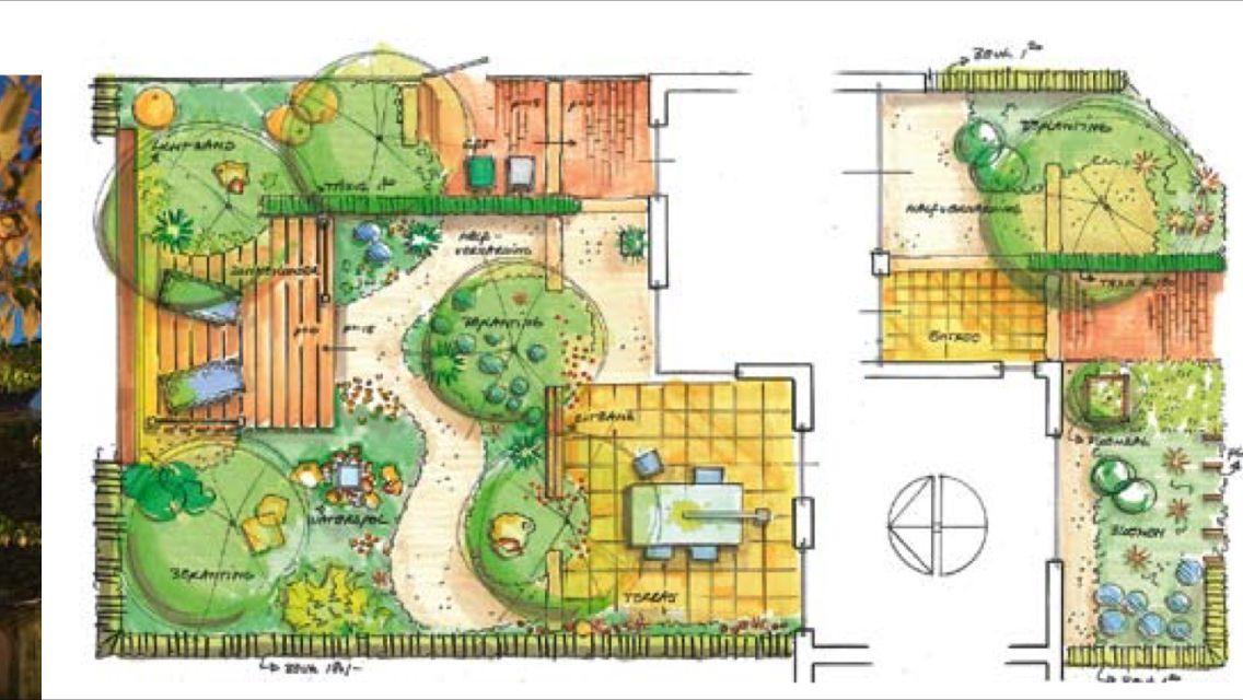 Plattegrond kleine tuin tuin van het jaar 2010 garden for Plattegrond tuin maken