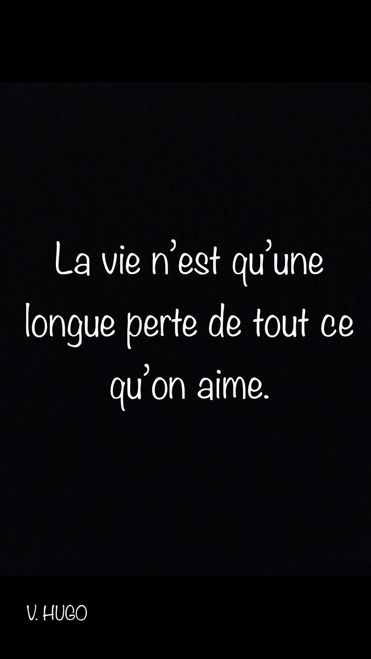 Citation On A Qu Une Vie : citation, Victor, Inspirational, Quotes,, Quote, Citation,, Quotes