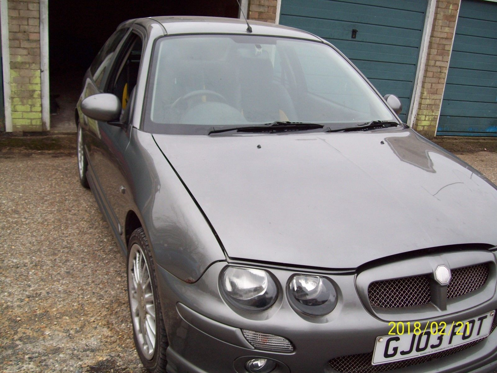 MG ZR 160 selling for spares, 95,000 miles   Salvage cars and Cars