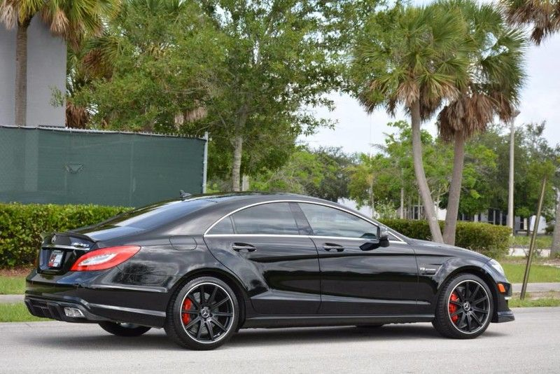 2014 Mercedes Benz Cls63 S Amg Black On Black With Images