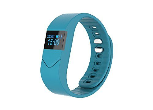 LUCOOCH M5S Bluetooth V40 Activity Tracker Wireless Heart Rate Smart Bracelet Navy >>> Visit the image link more details.